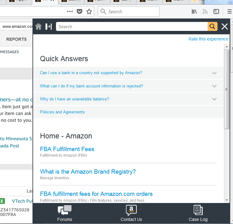 How To Contact Seller Support Help For New Sellers Amazon Seller Forums