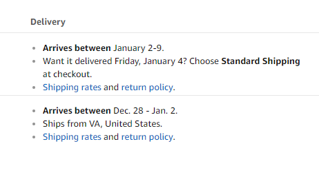 Amazon took a picture of my delivery