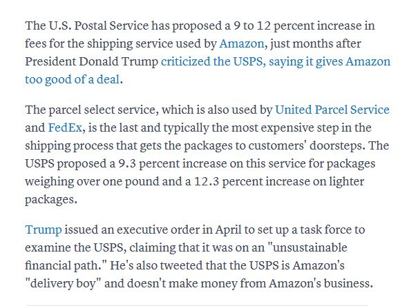 USPS Prices going up - General Selling Questions - Amazon