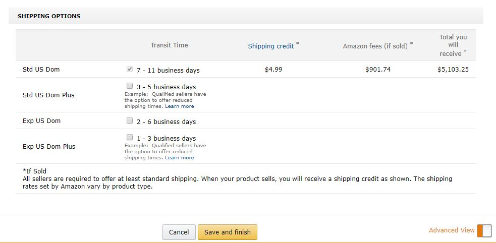 Amazon Shipping Prices Problem Order Management Shipping Feedback Returns Amazon Seller Forums